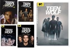 Teen Wolf Seasons 1-4 DVD