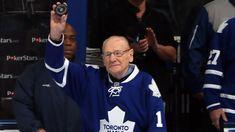 Maple Leafs legend Johnny Bower dies at 93 Air Canada Centre, Maple Leafs Hockey, John Deere Equipment, Hockey World, Hockey Games, Vancouver Canucks, Sports Figures, Toronto Blue Jays, Toronto Maple Leafs