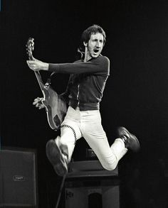 Pete Townshend - my all time favorite guitarist. He is godly.