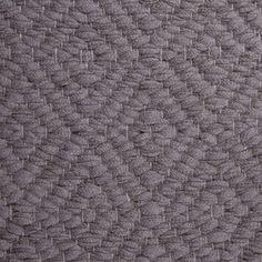 Diamond Twill, grey 0480 on the natural yarn Vandra Rugs Yarn Colors, Colours, Natural Linen, Scandinavian Design, Wool Felt, Bespoke, Rugs, Diamond, Grey