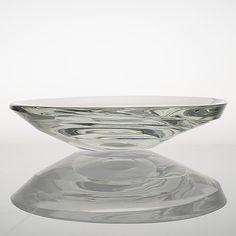Tapio Wirkkala, konstglas/skål, 3277=3877, signerad Tapio Wirkkala Iittala. - Bukowskis Glass Design, Design Art, Bukowski, Auction