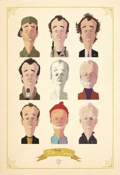Bill Murray by Loren Shop
