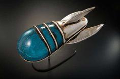 Spacecraft - Rik Allen, metal & blown glass