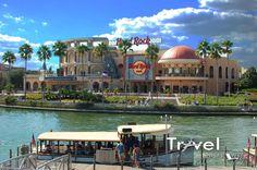 City Walk at Universal Studios in Orlando