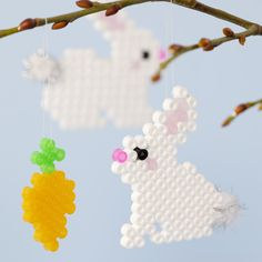 Fuse Beads, Perler Beads, Diy For Kids, Crafts For Kids, Pearl Beads Pattern, Hama Beads Design, Beading Patterns, Quilling, Activities For Kids
