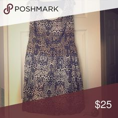 Fun Summer Animal Print Dress Plus size Animal print dress. Fun new item to bring out your sassy side for any event. Jessica Simpson Dresses Midi