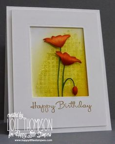 Stamping with Loll: Glass Bead Embossing Gel