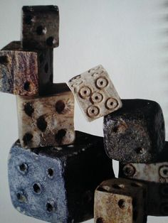 Very old dice