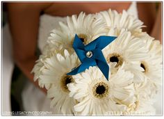 Pinwheel in flower bouquet