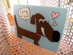 Valentine card by AbbeyJay.etsy.com
