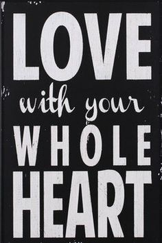 Whole Heart Framed Print
