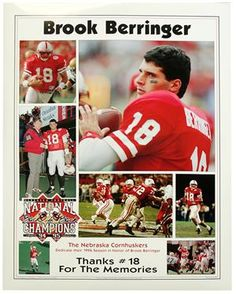 Brook Berringer from my hometown Goodland Ks. I was a police officer there and wrote him a speeding ticket after giving him a warning the first time. A great guy!