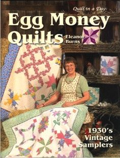 Egg Money Quilts 735272010739 - Quilt in a Day Books