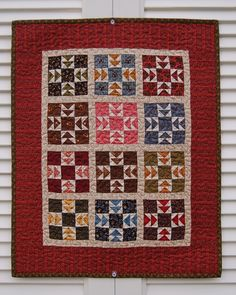 """Quilt for Sale, """"Square Dance"""" is a Handmade Patchwork Wall Quilt ... : lap quilts for sale - Adamdwight.com"""