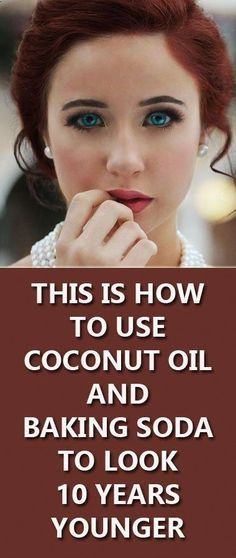 This Is How To Use Coconut Oil And Baking Soda To Look 10 Years Younger - Herbal and Home Solutions - Skin Care Health Tips For Women, Health Advice, Health And Beauty, Women Health, Natural Facial Cleanser, Face Cleanser, Face Mask Ingredients, Baking With Coconut Oil, Baking Soda Shampoo