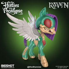 Big Shot Toy Works - Four Horsies of the 'Pocalypse Raven