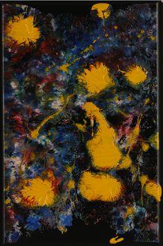 """Serenade To Clyfford Still 3 - F.6909 Circa: 2011 AD  Dimensions: 36"""" (91.4cm) high x 24"""" (61.0cm) wide"""
