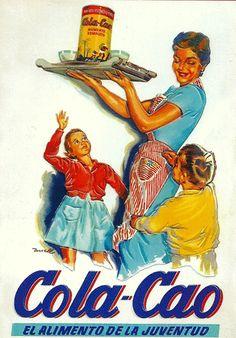 Anuncio Cola Cao años 50