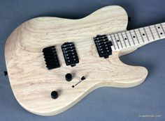 Charvel Pro-Mod San Dimas Style 2 HH Hardtail, Natural Ash - High Speed Playability!