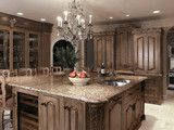 Crystal Cabinetry - traditional - kitchen - other metro - by Kleppinger Design Group, Inc.