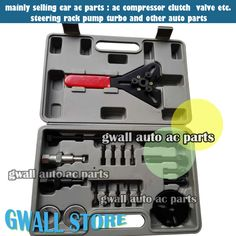 Brand New AC Compressor Repairing Tools Set Car Air Conditioning Compressor Removing and installation