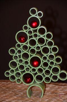 Green Decorative Centerpiece Christmas Tree. $39.99, via Etsy.