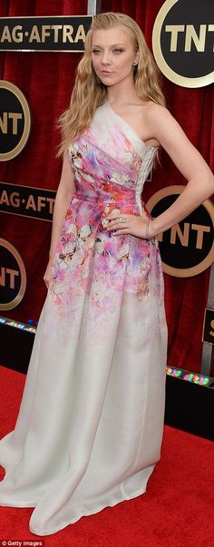 British beauties: Downton Abbey's Laura Carmichael and Game Of Thrones star Natalie Dormer