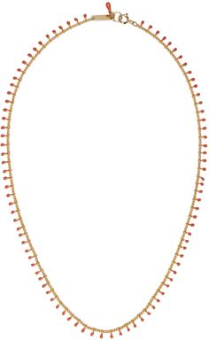 Isabel Marant - Gold Beaded Casablanca Necklace