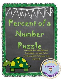 40 Best Percentages Images Teaching Math High School Maths