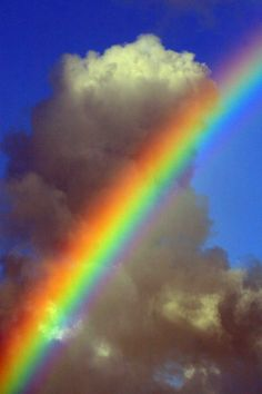 """Somewhere over the rainbow, way up high/There's a land that I've heard of once in a lullaby/Somewhere over the rainbow, skies are blue/And the dreams you dare to dream/Really do come true."" Judy Garland"