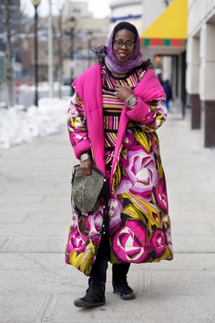 ADVANCED STYLE: Winter to Spring