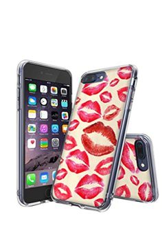 iPhone 7 Plus Case, i7 Plus Case, Slim Case for iphone 7 Plus 5.5 - iPhone 7 Plus Bumper Case Pink Lips -- Awesome products selected by Anna Churchill