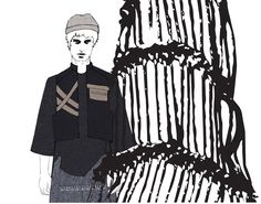 Fashion Portfolio - fashion design process; fashion illustration; fashion sketchbook // Joanna Jadallah