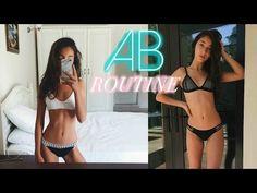HOW TO GET ABS // AB WORKOUT ROUTINE | Nil Sani - YouTube