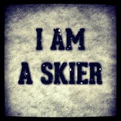Yay! Skiing!
