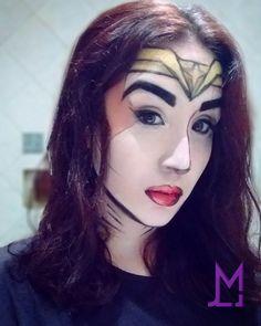 Wonder Woman makeup #wonder #woman #makeup
