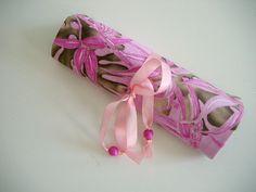 Schmuckrollen & - taschen - Schmucktasche Schmuckrolle für die Reise - ein…