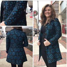 Jade Ocean Lace Club Jacket – Rebecca's of Clinton