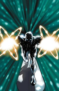 Radioactive Silver Surfer #comic