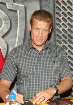 images of Mark Valley Mark Valley, Human Target, Special People, Tv Shows, Handsome, Men Casual, Shirt Dress, My Favorite Things, Celebrities