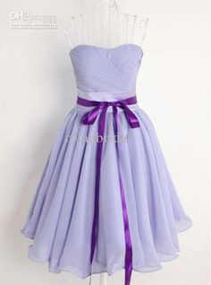 Wholesale 2013 HOTA-Line Tea Length Short Lavender Bridesmaid Dresses Gown Birthday Bridal Party Prom Dress, Free shipping, $47.04-50.4/Piece | DHgate