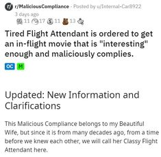 All the said was that it had to be interesting, and she kinda nailed it. #movie #flightattendant #movie #wtf #story