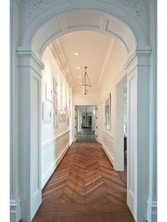 Herringbone Wood Floor