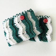 Ravelry: Ripple Boot Cuffs pattern by Cassandra Bibler Crochet Boot Cuff Pattern, Crochet Patterns, Hat Patterns, Quick Crochet, Double Crochet, Foundation Single Crochet, Crochet Boots, I Love This Yarn, Yarn Needle