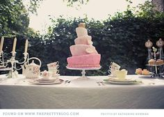Alice in Wonderland Tea Party Themed Bridal Shower
