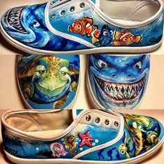 Custom Hand Painted Shoes Made to Order by ShoesbySummer on Etsy, $90.00