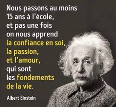 Citation Einstein, Einstein Quotes, Albert Einstein, Martin Luther King, Proverbs Quotes, Philosophy Quotes, Positive Inspiration, Some Words, Good Thoughts