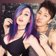 Super Mary Face and Guy Tang.