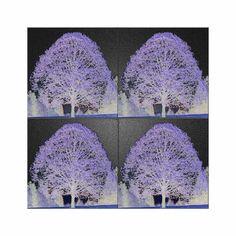 """'Wandkacheln """"Baum (1)"""" pp' von Rudolf Büttner bei artflakes.com als Poster oder Kunstdruck $19.41"""