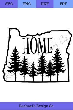 State of Oregon with trees As You Like, That Way, State Outline, Outline Art, Diy Blanket Ladder, Cut Image, Group Boards, Best Blogs